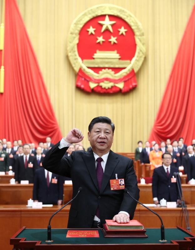 xi jinping unanimously elected chinese president cmc chairman