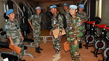 Chinese peacekeepers to S. Sudan passes UN combat-readiness assessment