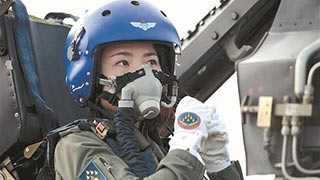 Overseas Air Forces send condolences for fallen Chinese female pilot