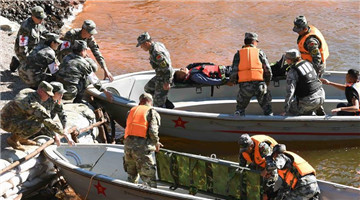 China, US wrap up joint humanitarian aid, disaster relief drill