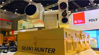 China-made laser air defense system exhibited in Middle East