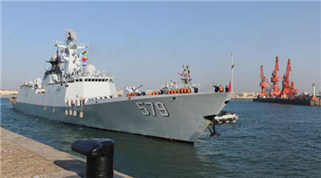 24th Chinese naval escort taskforce returns home