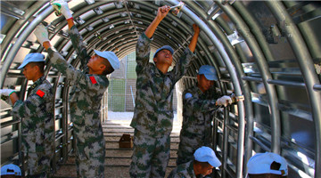 Chinese peacekeeping force in Lebanon gets UNIFIL merit