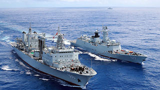 26th Chinese naval escort taskforce arrives in Gulf of Aden