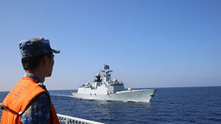 25th, 26th Chinese naval escort taskforces hold mission-handover ceremony
