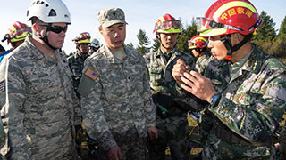 US, Chinese Soldiers Find Common Ground in Disaster Drills