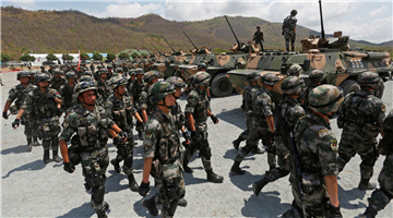 Cambodia Joins China for Military Drills