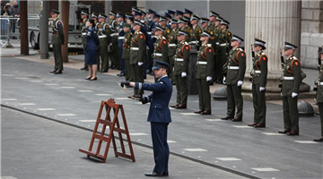 Ceremony held in Dublin to commemorate 1916 Easter Rising