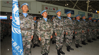 6th Chinese peacekeeping force to Mali sets out