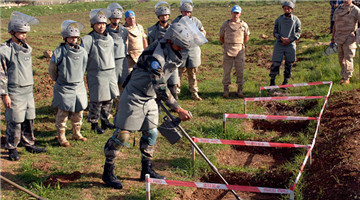 In Pics: Chinese peacekeepers clear 9,719 landmines in Lebanon