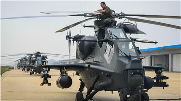 Comprehensive inspections on attack helicopters