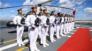Chinese frigate Binzhou starts five-day visit to Poland