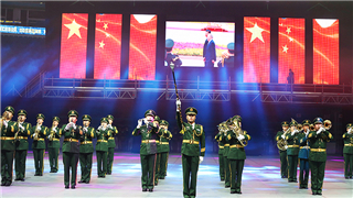 China's APF military band participates in Kazakhstan Military Tattoo