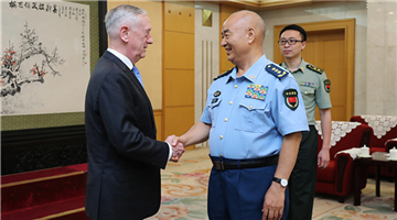 CMC Vice Chairman meets with US Secretary of Defense
