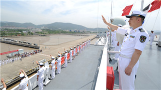 PLA Navy's hospital ship Peace Ark sets sail for