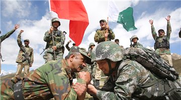 China, Pakistan conduct joint border patrol