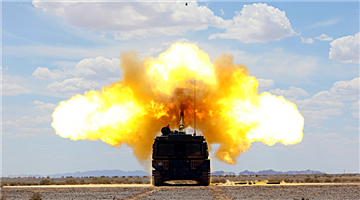 PLZ-05 155mm howitzer systems spit fires