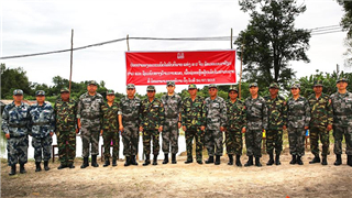 Joint medical rescue exercise promotes China- Laos military ties