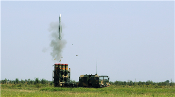 Multi-type missile systems conduct training near Bohai Bay