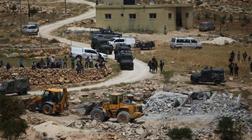 Israeli army demolishes Palestinian house for lacking construction license