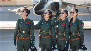 PLA Air Force recruits its 12th batch of female pilots