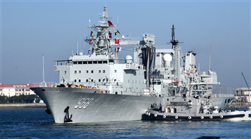China sends new naval fleet for escort mission
