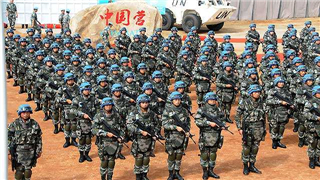 Chinese troops arrive in South Sudan for peacekeeping mission