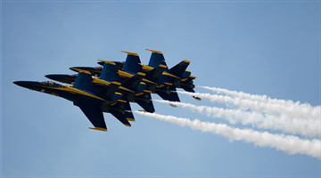 Highlights of Fort Worth Alliance Air Show in United States