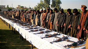 180 more IS militants surrender in E. Afghan province
