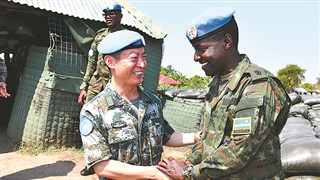 Deeply impressed by Chinese peacekeepers in Africa