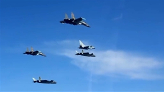Air Force reveals J-20 combat formation