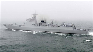 China's newly commissioned destroyer, frigate achieve battle readiness