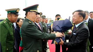 Myanmar's military chief in Beijing on goodwill visit