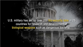 The biological laboratories of the U.S. military threaten the health and safety of all human life